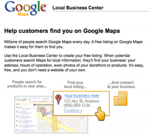 google-local-business-center