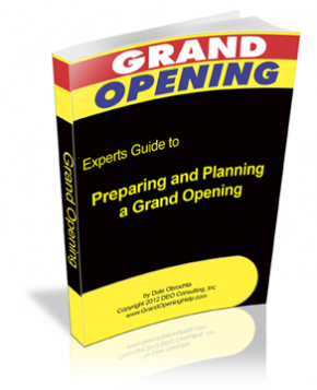 Tips To Planning A Grand Opening